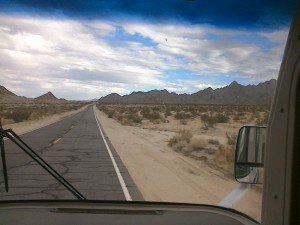 Hello California desert!