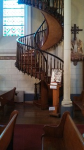 The Miraculous Staircase. Nuns prayed to the Saint of Carpenters for someone who could build the stairs