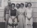 Wayne, Loretta, Ella, Helen, Jeff, Elna