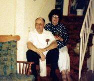 Mom and Gus at Ella's