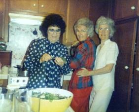Mom, Ella and Helen