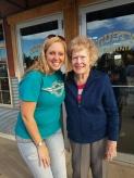 Aunt Elna Miller and Greg's daughter Renee