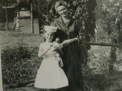 Cousin Valerie Leckey with her Mom Ella