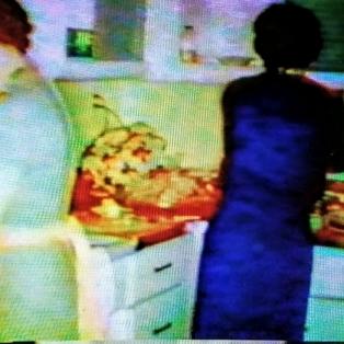 Mom and Aunt Elna Miller
