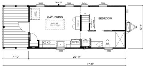 Berry floor plan