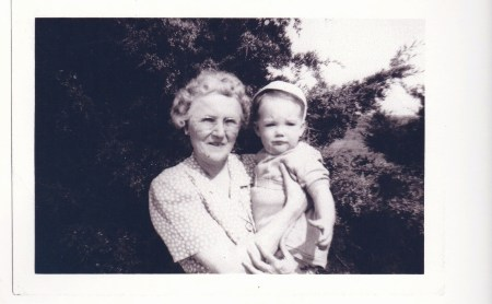 Connie Bowers and little Billy