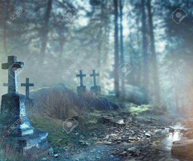 47191869-halloween-art-design-background-foggy-graveyard-at-night