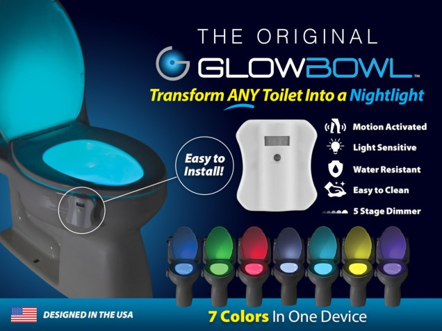 GlowBowl - Motion-Activated Night