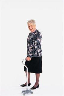 700-00027249 © Robert Karpa Model Release: Yes Property Release: No Model Release Portrait of Elderly Woman with Walker